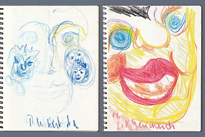 Malprojekte, Bild 2, Skizzen